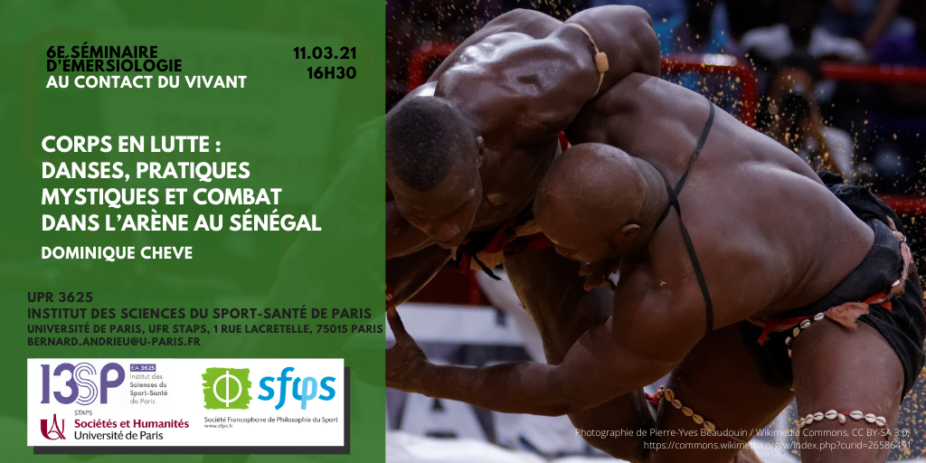 Séminaire d'émersiologie : Jeudi 11.03 à 16h30 – Corps en lutte par Dominique CHEVE