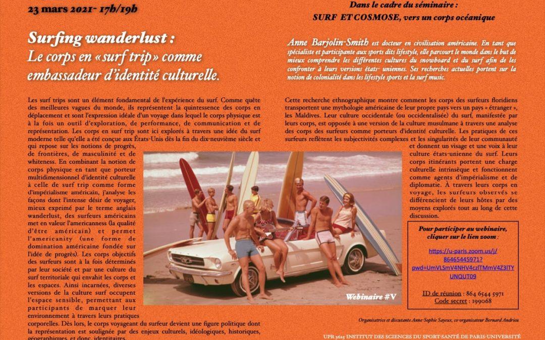 Séminaire «Surf Cosmose»
